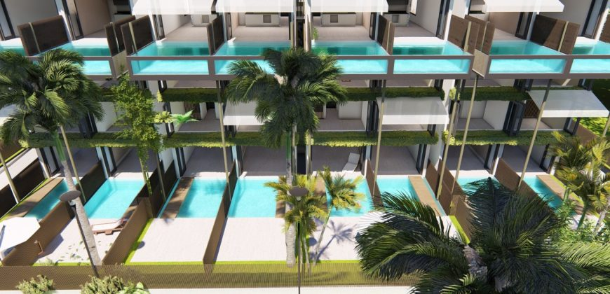 APARTMENTS TYPE TS, POOL TROPIC, CAP CANA.